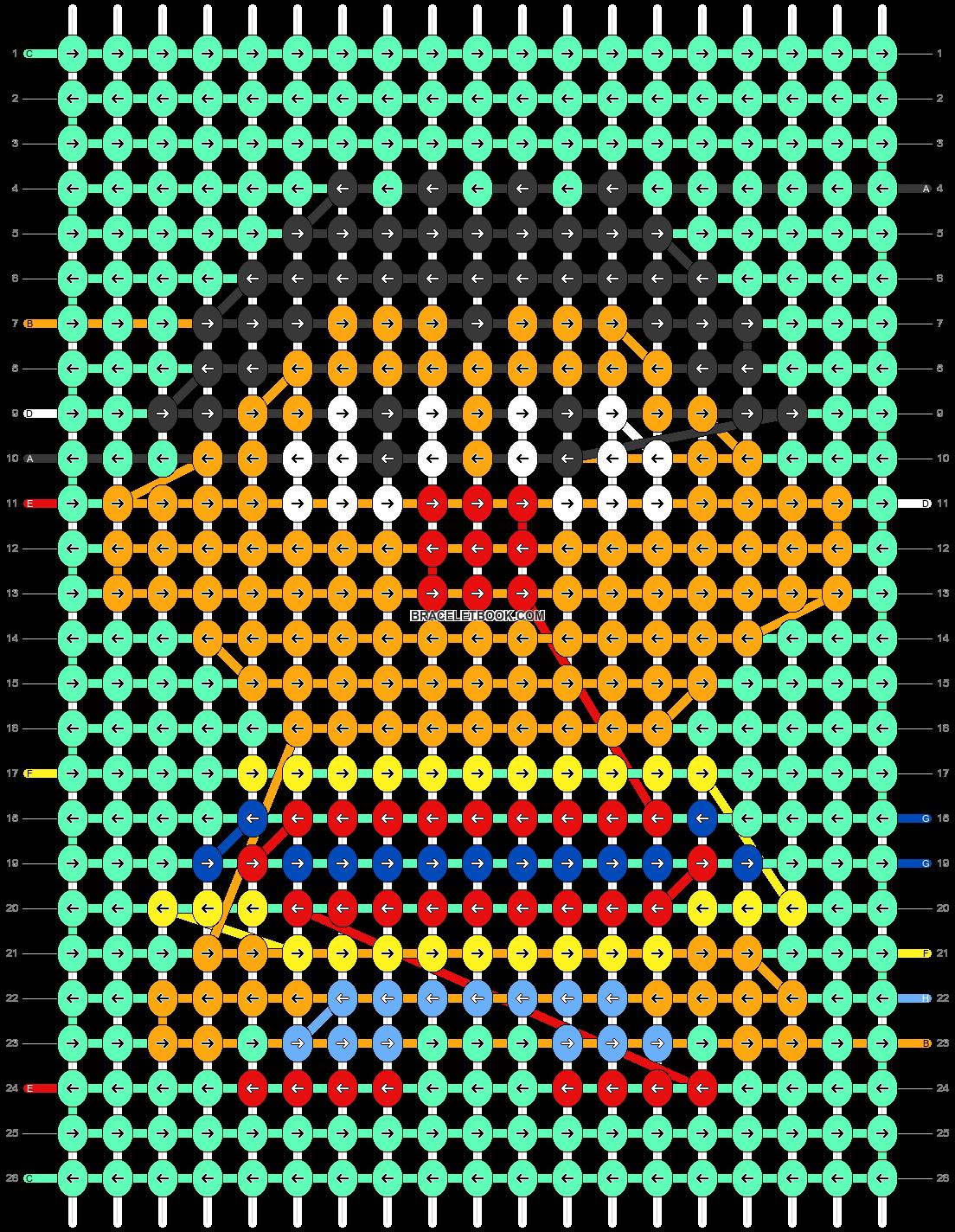 Alpha pattern #31602 pattern