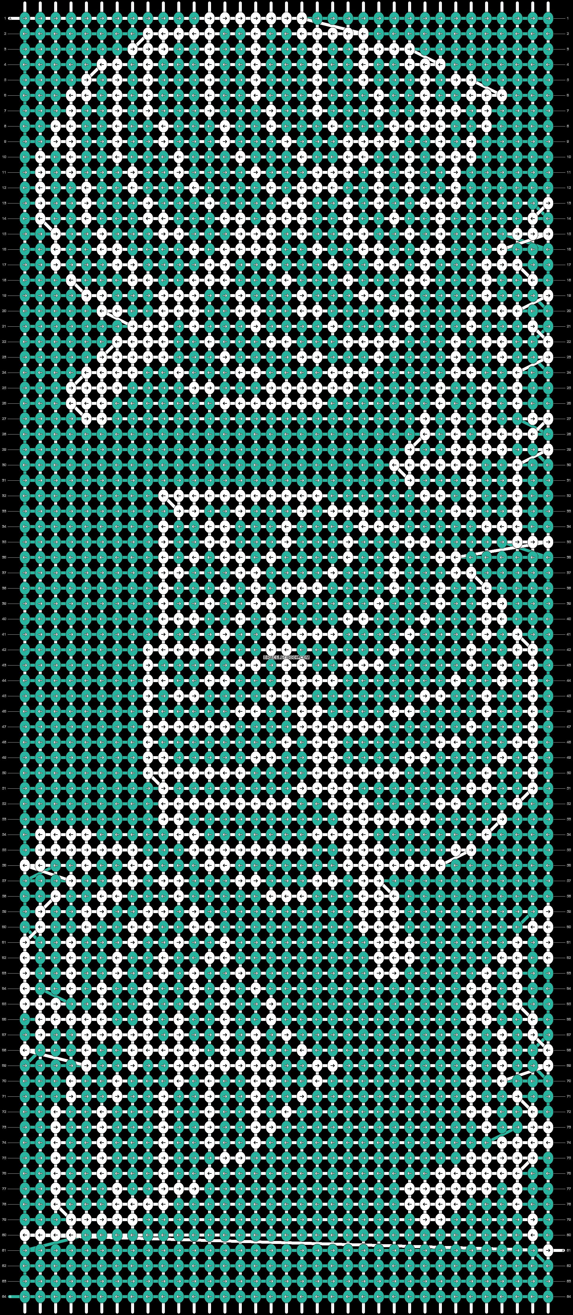 Alpha pattern #31614 pattern