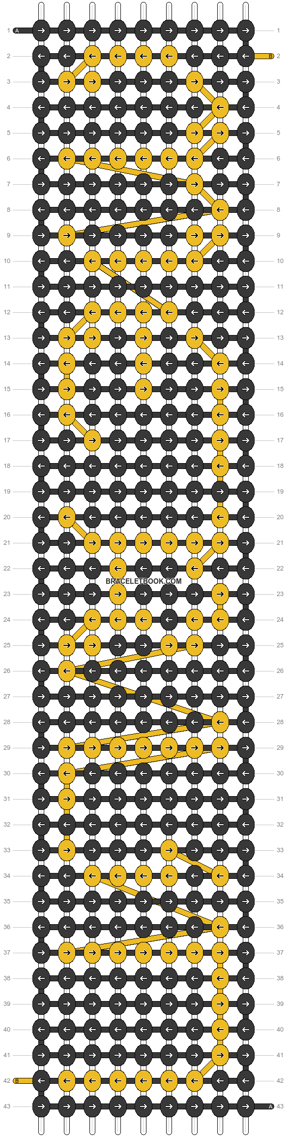 Alpha pattern #31630 pattern