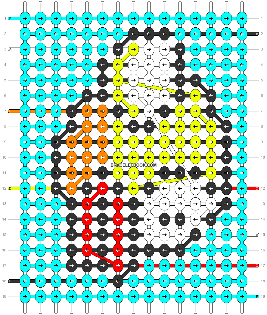 Alpha pattern #31634 pattern