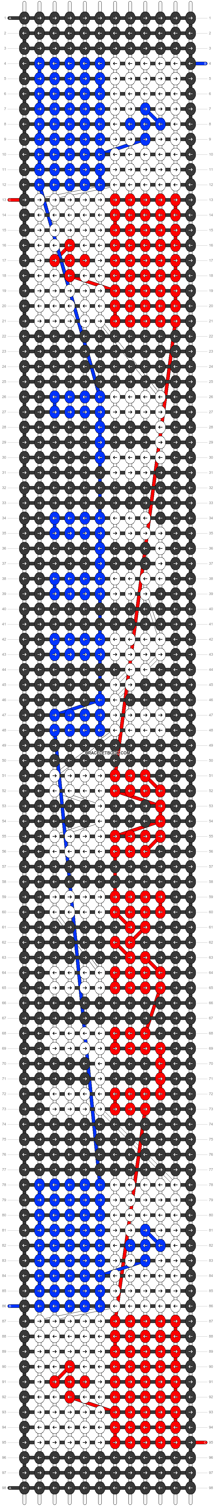 Alpha pattern #31639 pattern