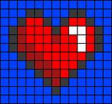 Alpha pattern #31723