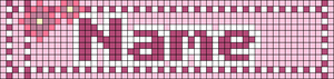 Alpha pattern #31725