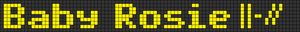 Alpha pattern #31728