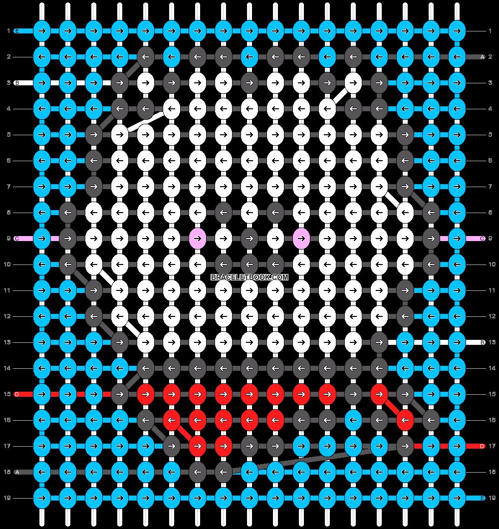 Alpha pattern #31820 pattern