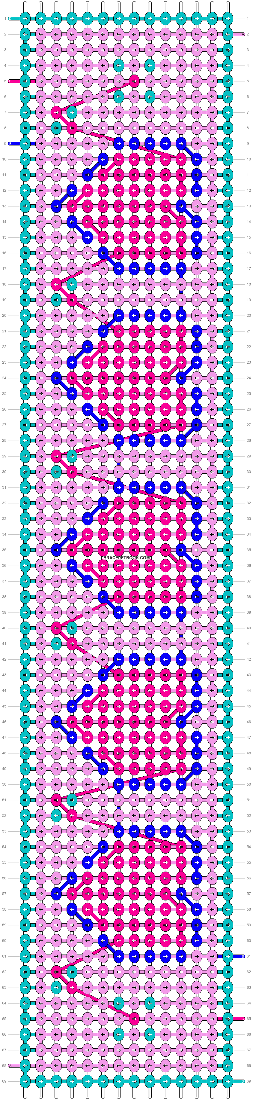 Alpha pattern #31844 pattern