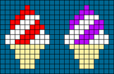 Alpha pattern #31845