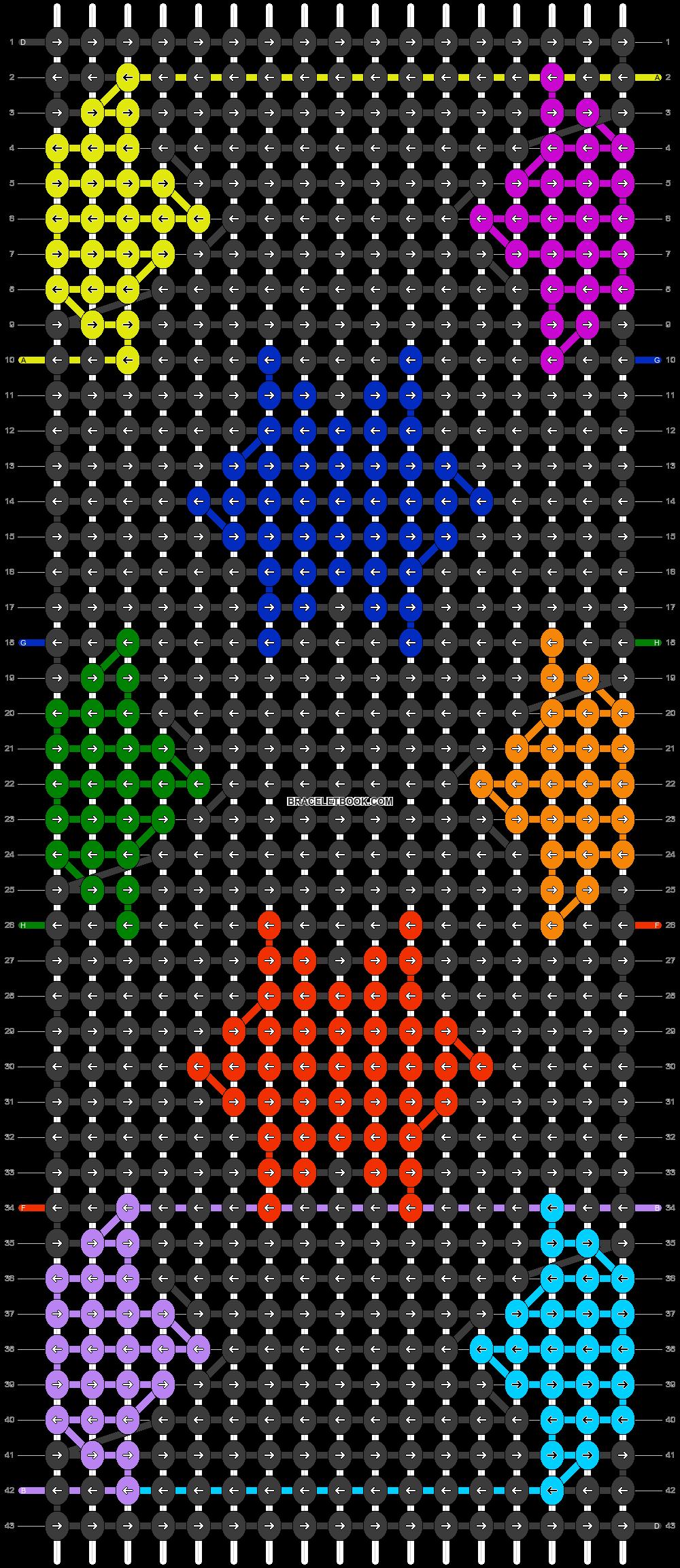 Alpha pattern #31857 pattern
