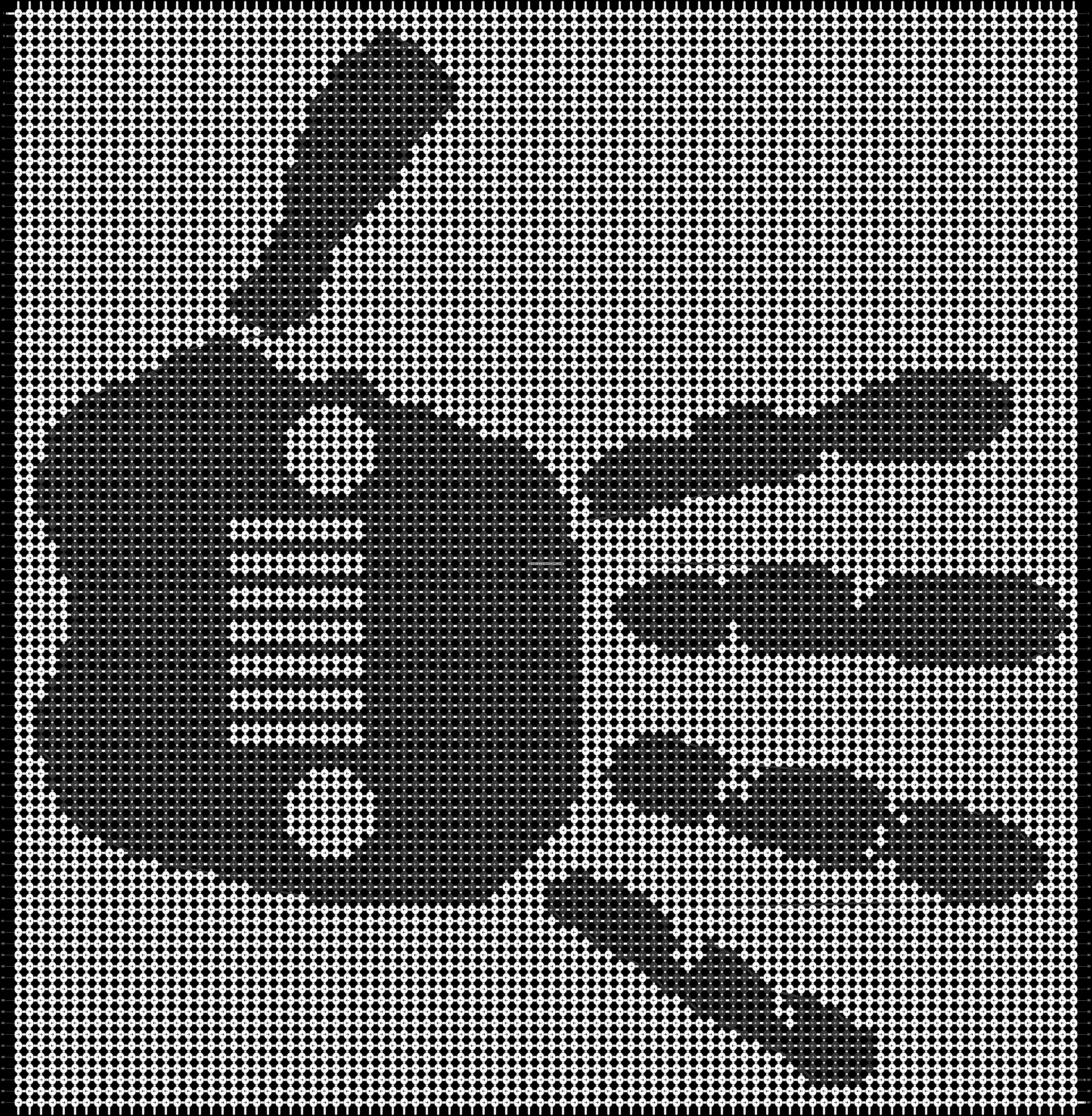 Alpha pattern #31866 pattern