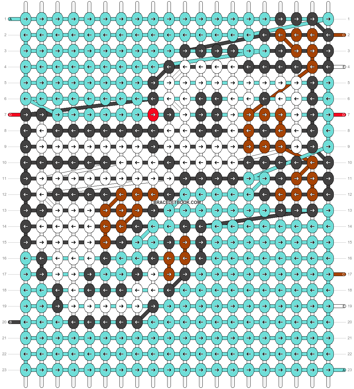 Alpha pattern #31871 pattern
