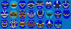 Alpha pattern #31878