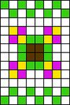 Alpha pattern #31879
