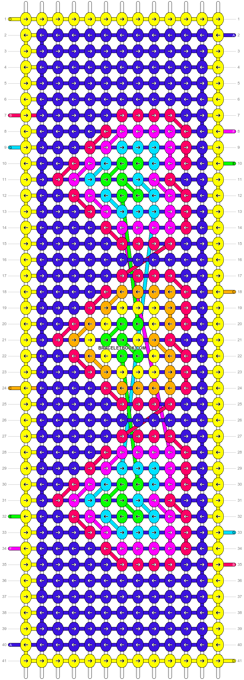 Alpha pattern #32019 pattern