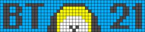 Alpha pattern #32023