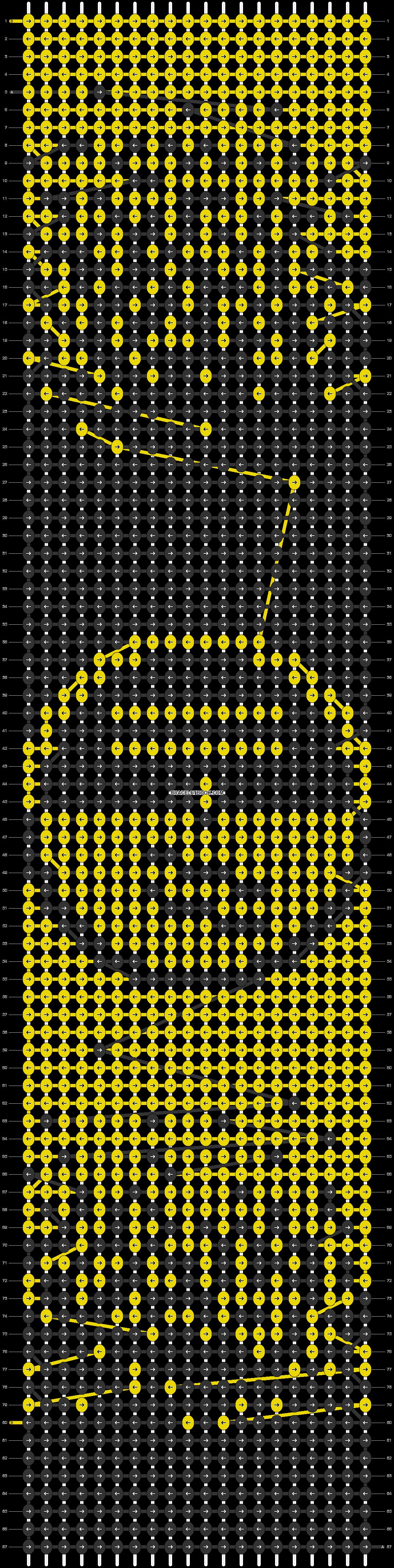 Alpha pattern #32036 pattern