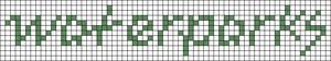 Alpha pattern #32069