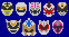 Alpha pattern #32078