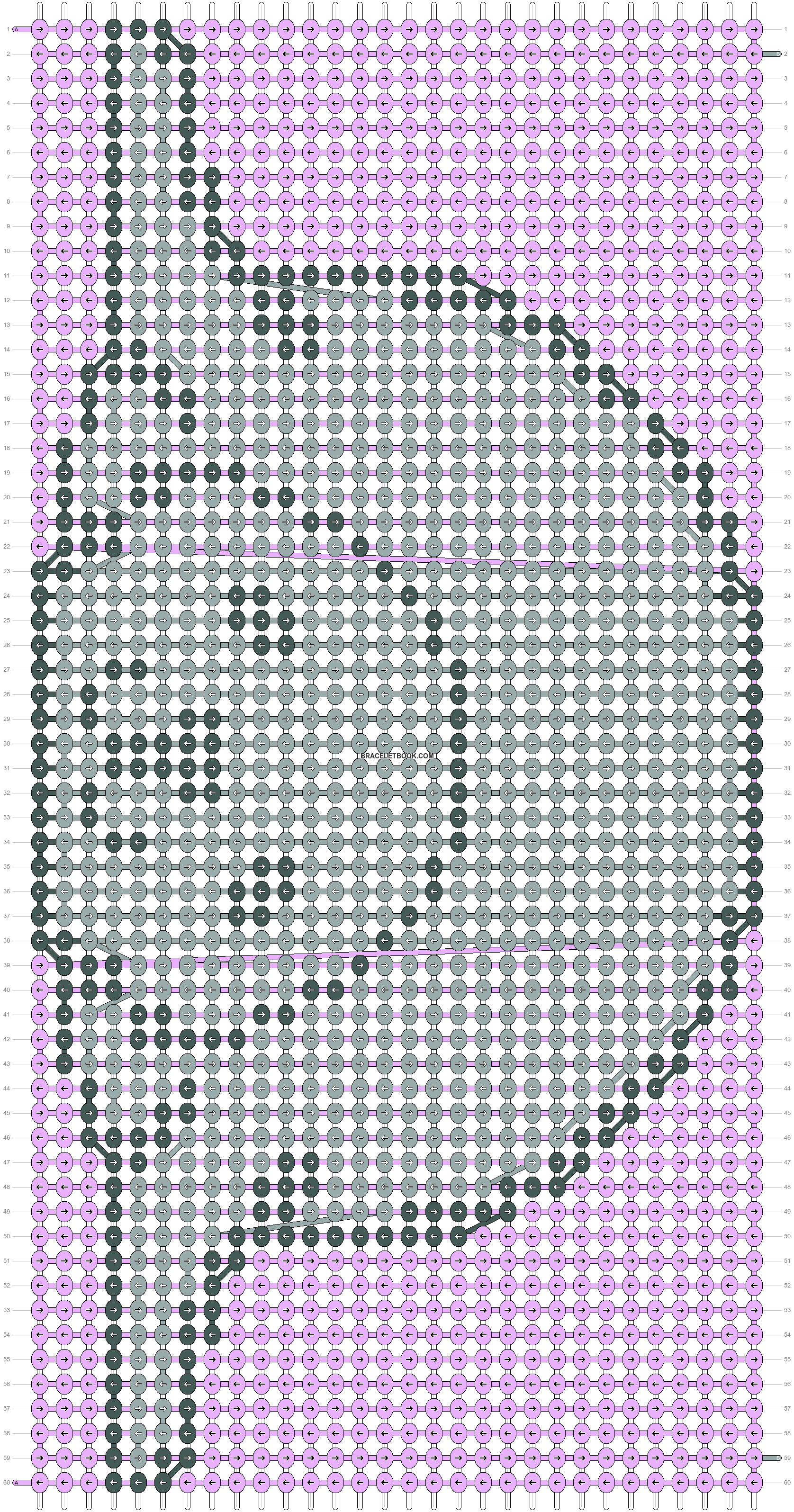 Alpha pattern #32121 pattern