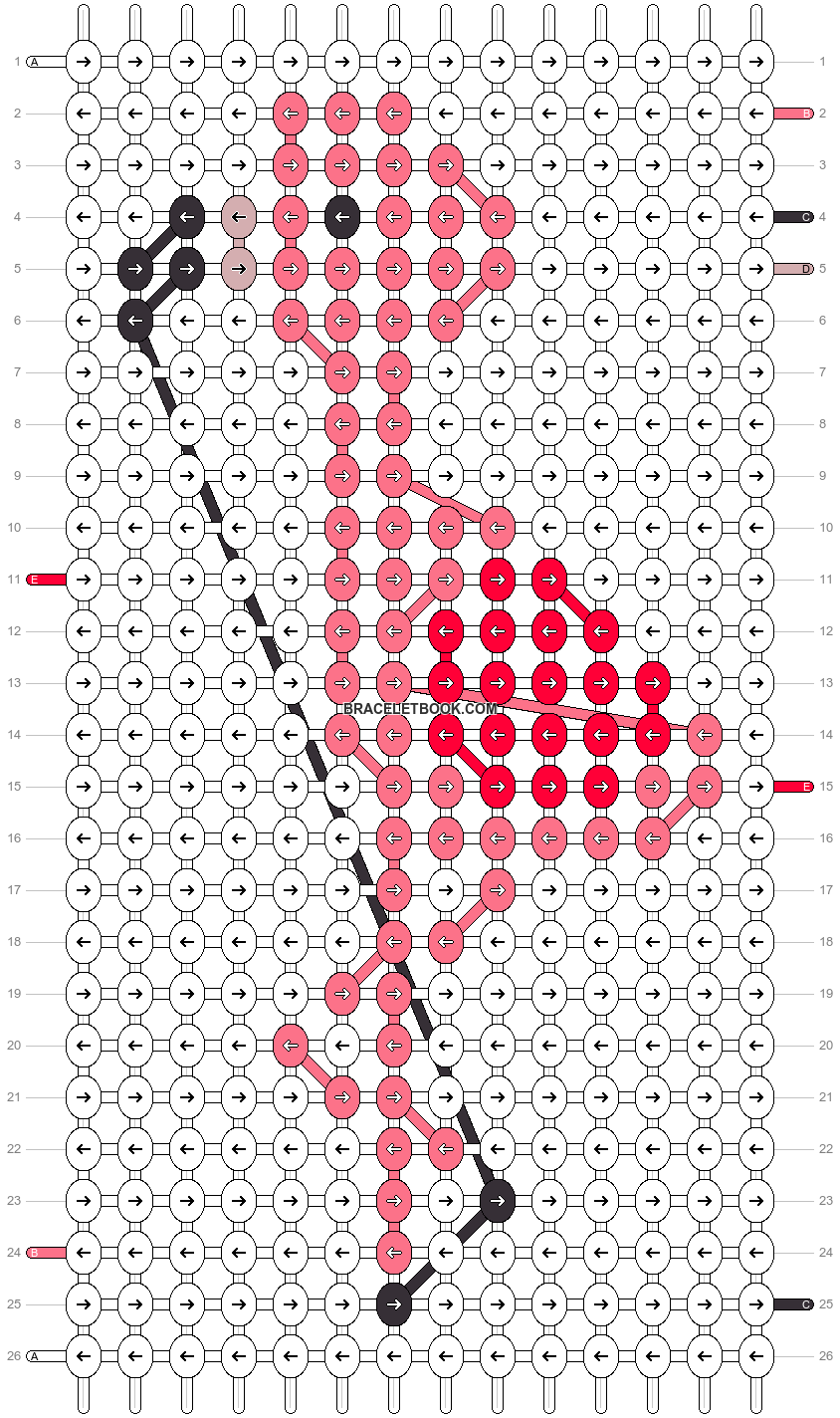 Alpha pattern #32209 pattern