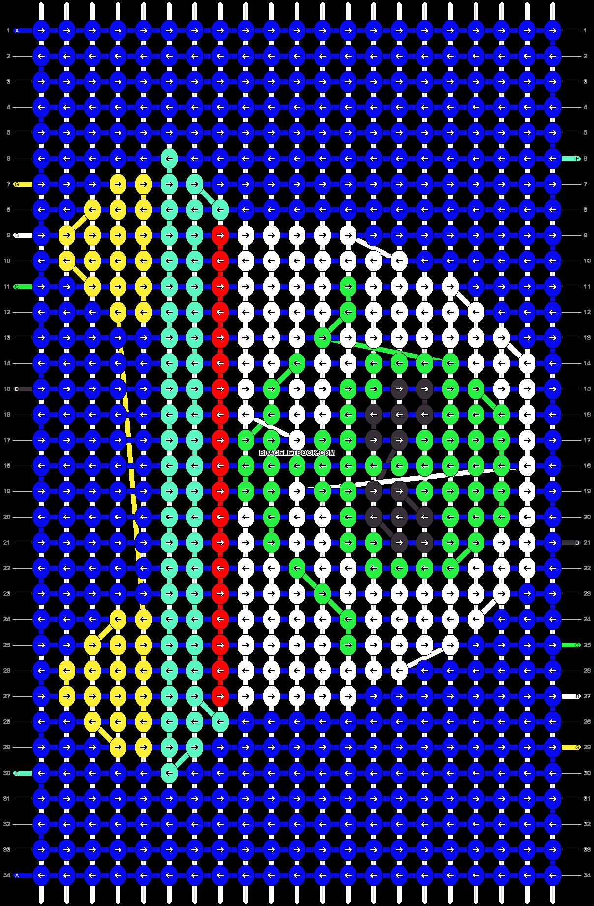 Alpha pattern #32214 pattern