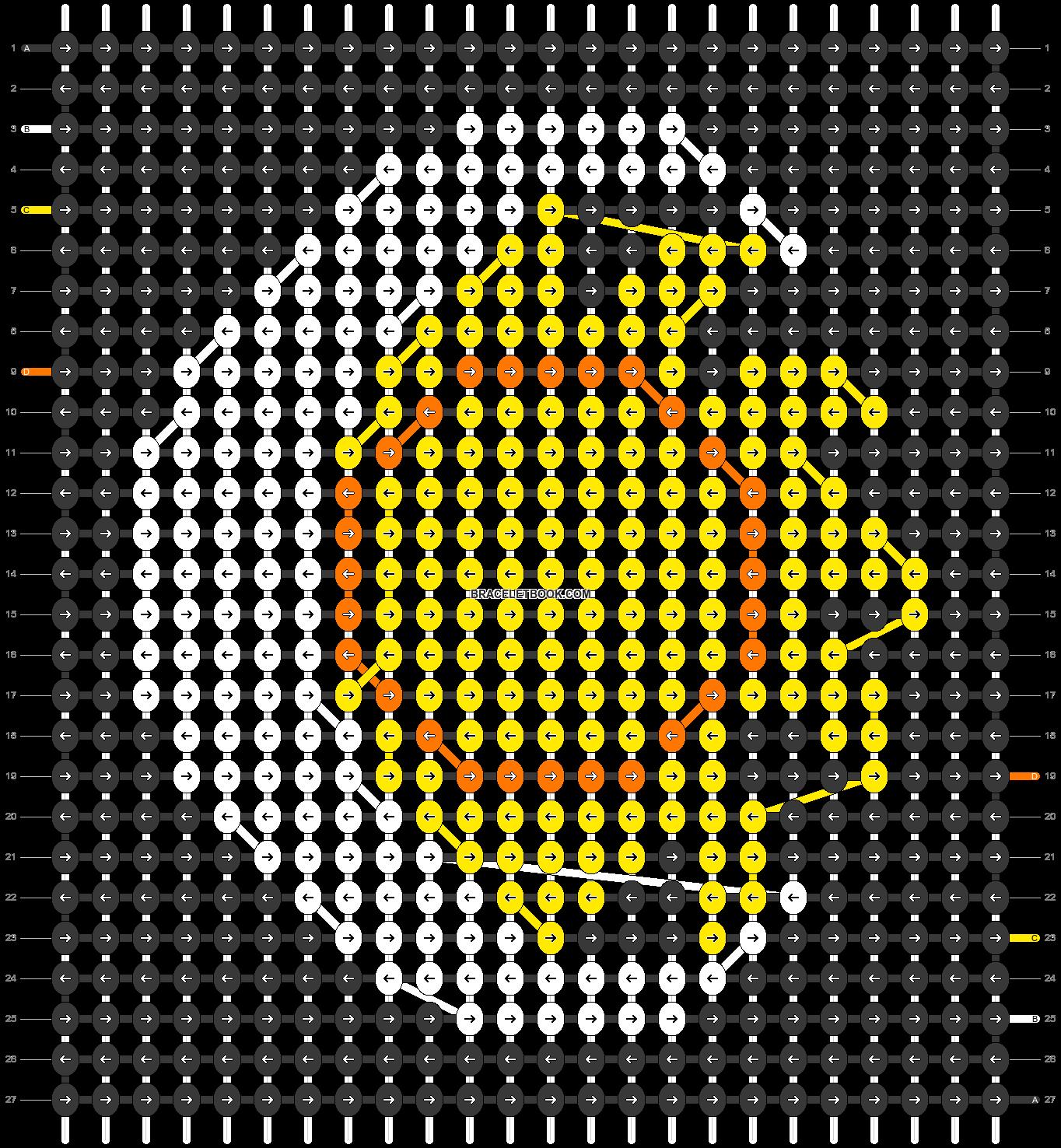 Alpha pattern #32254 pattern