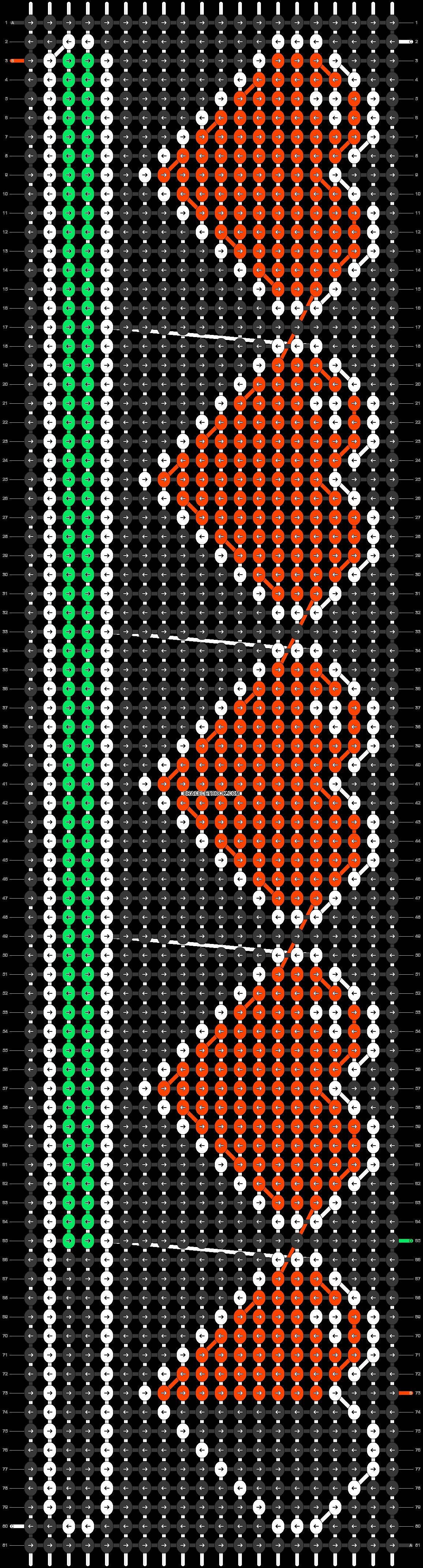 Alpha pattern #32300 pattern
