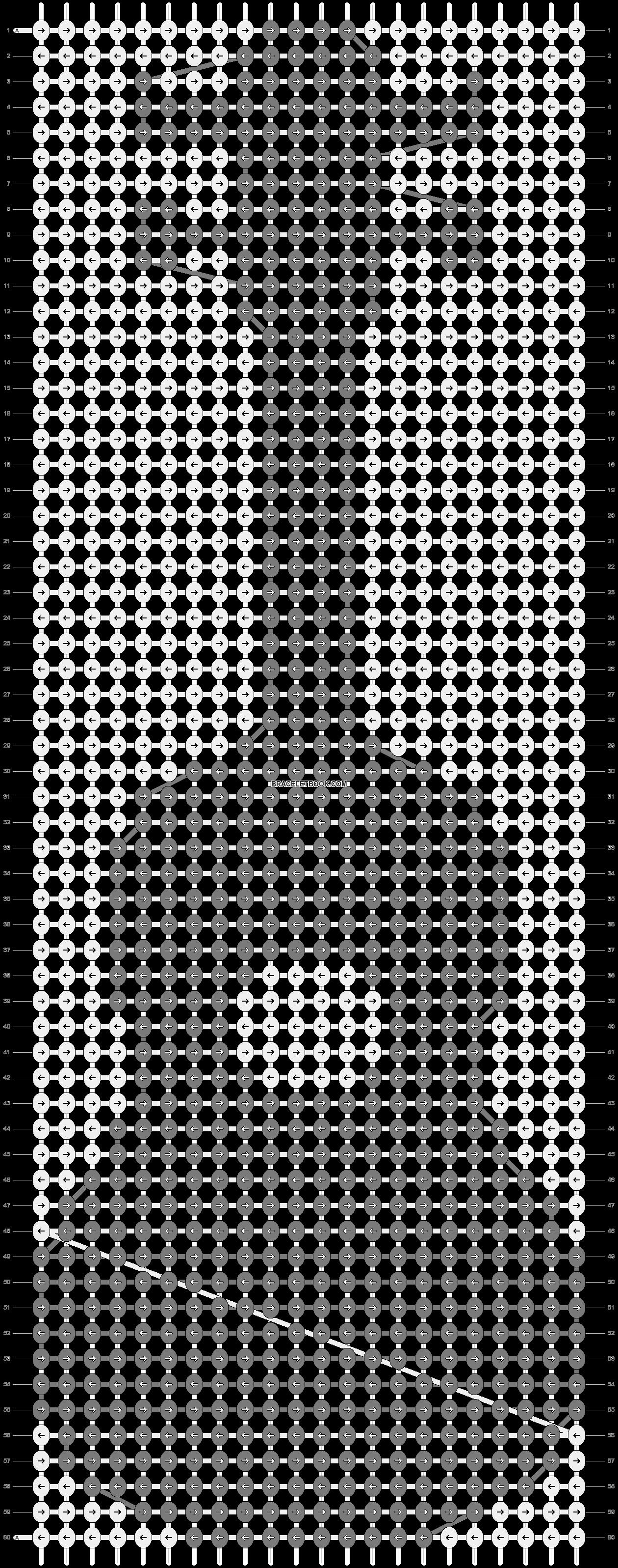 Alpha pattern #32316 pattern