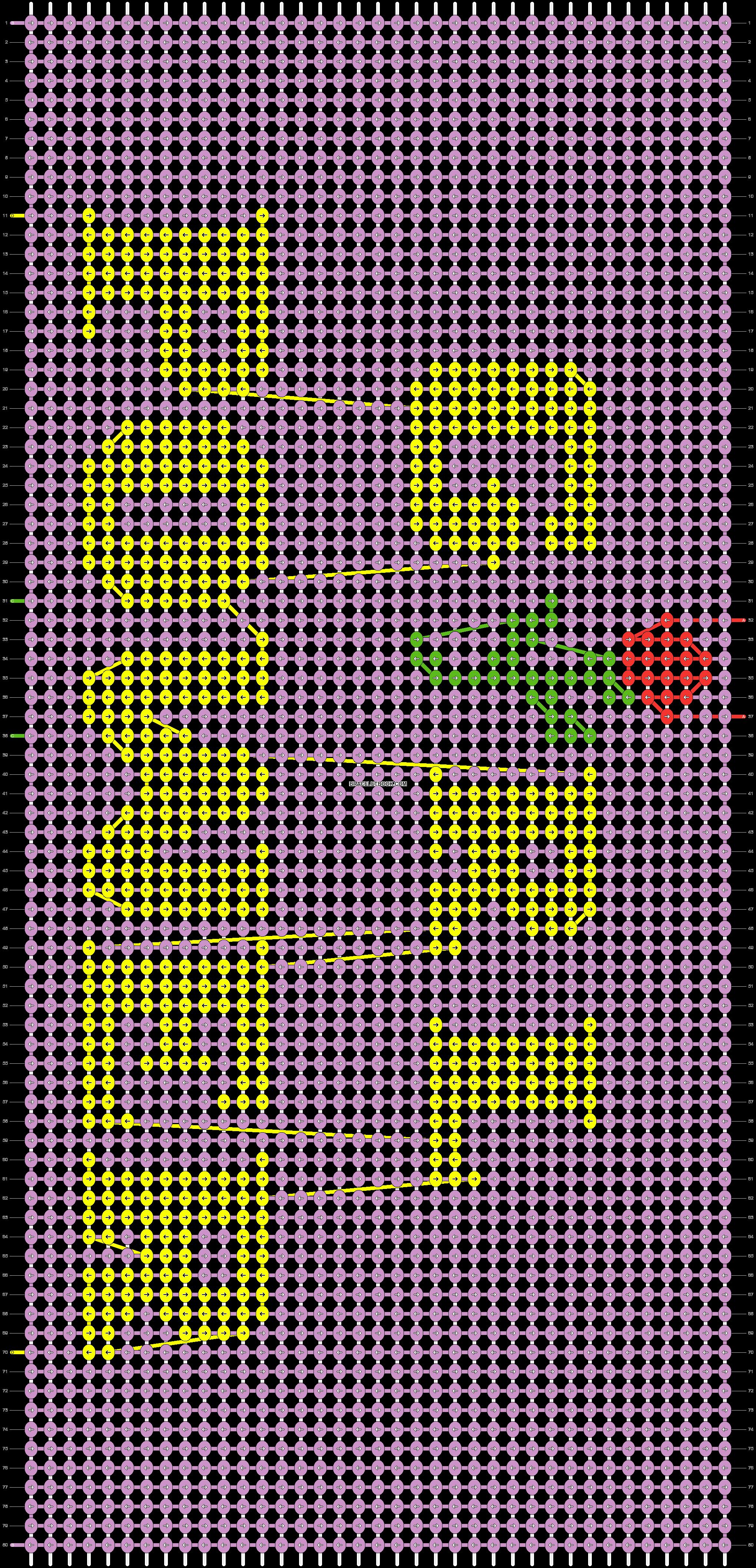 Alpha pattern #32391 pattern