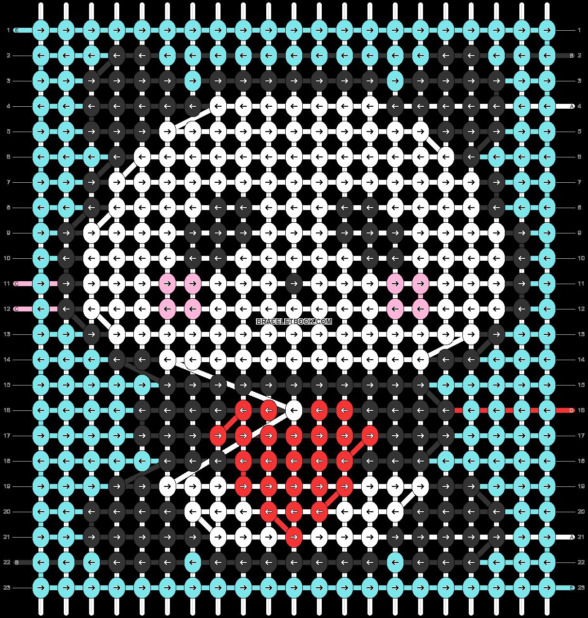 Alpha pattern #32450 pattern