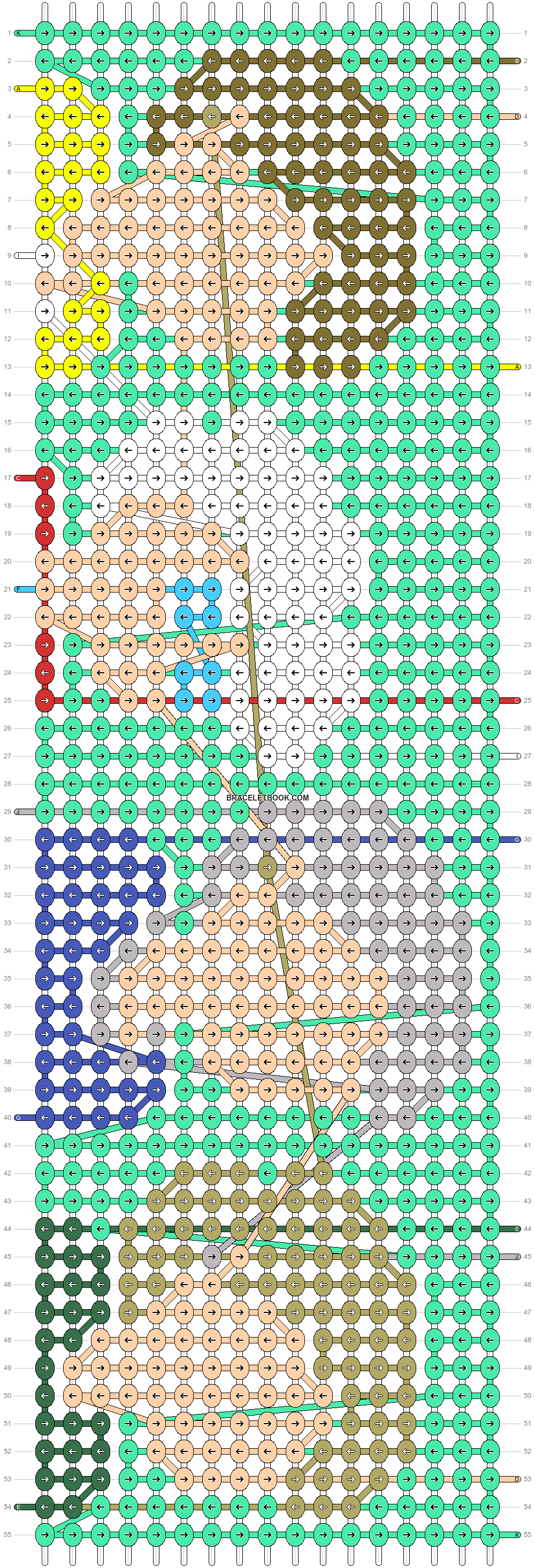 Alpha pattern #32486 pattern