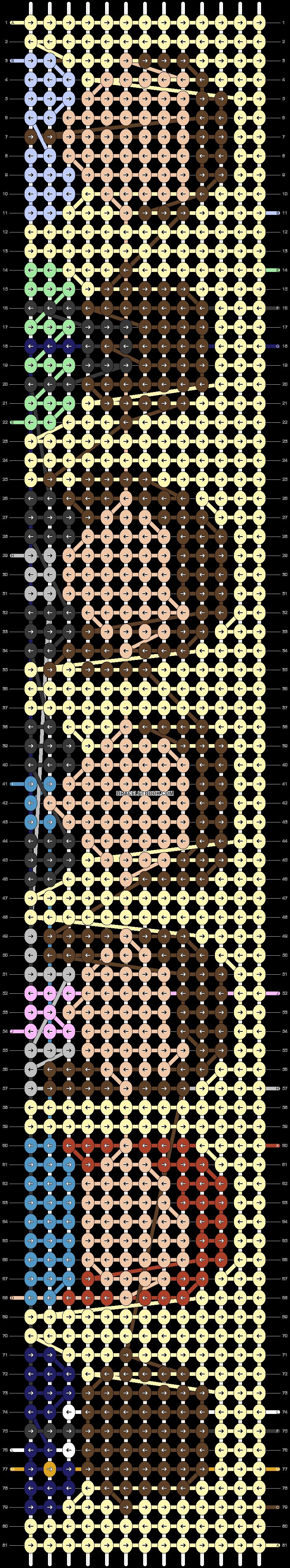 Alpha pattern #32498 pattern