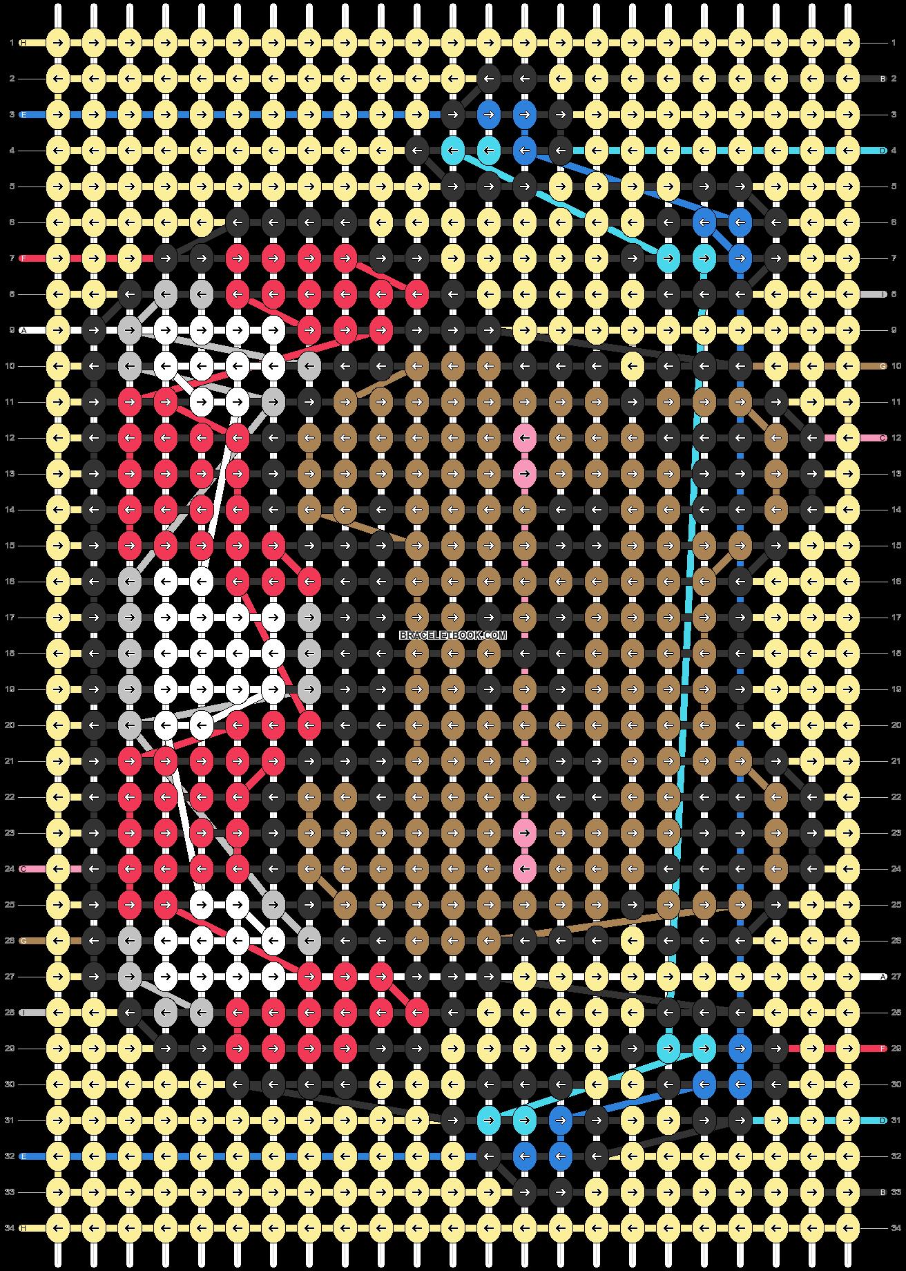 Alpha pattern #32504 pattern