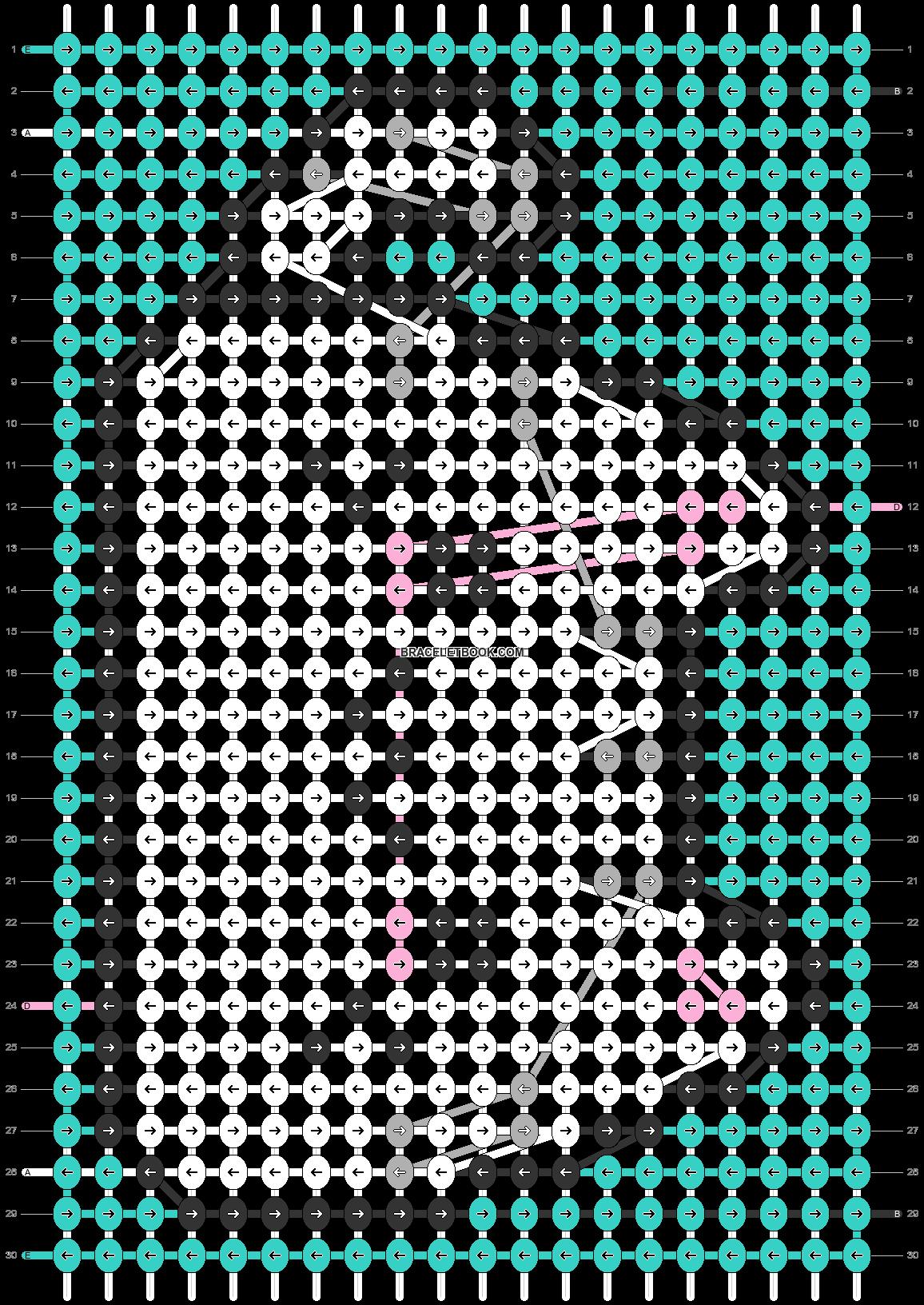 Alpha pattern #32505 pattern