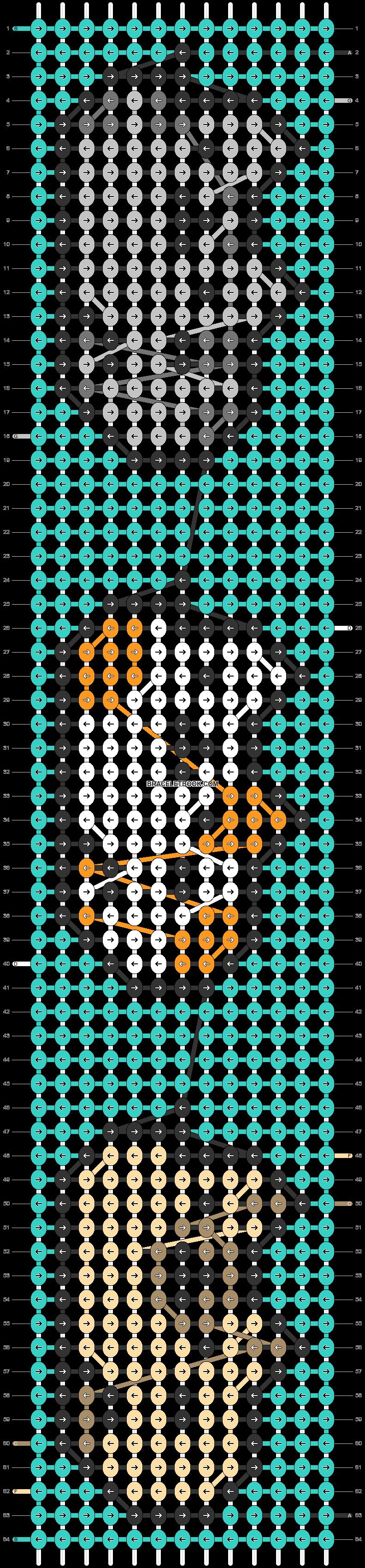Alpha pattern #32506 pattern
