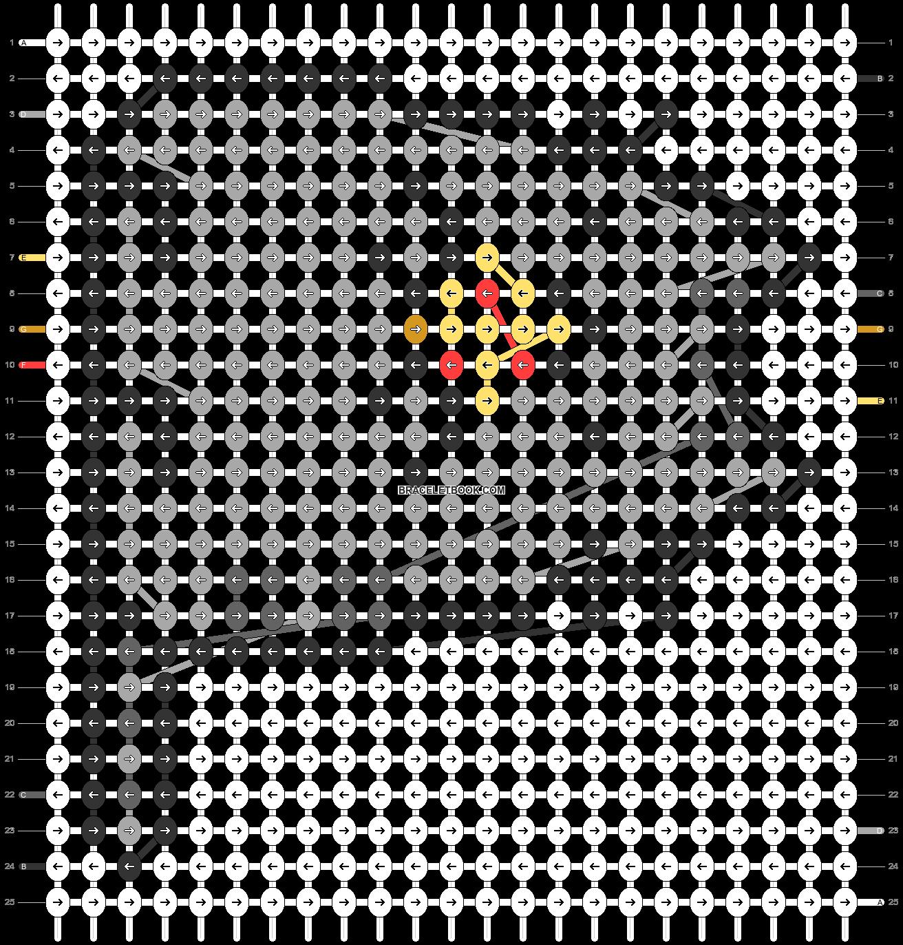 Alpha pattern #32511 pattern