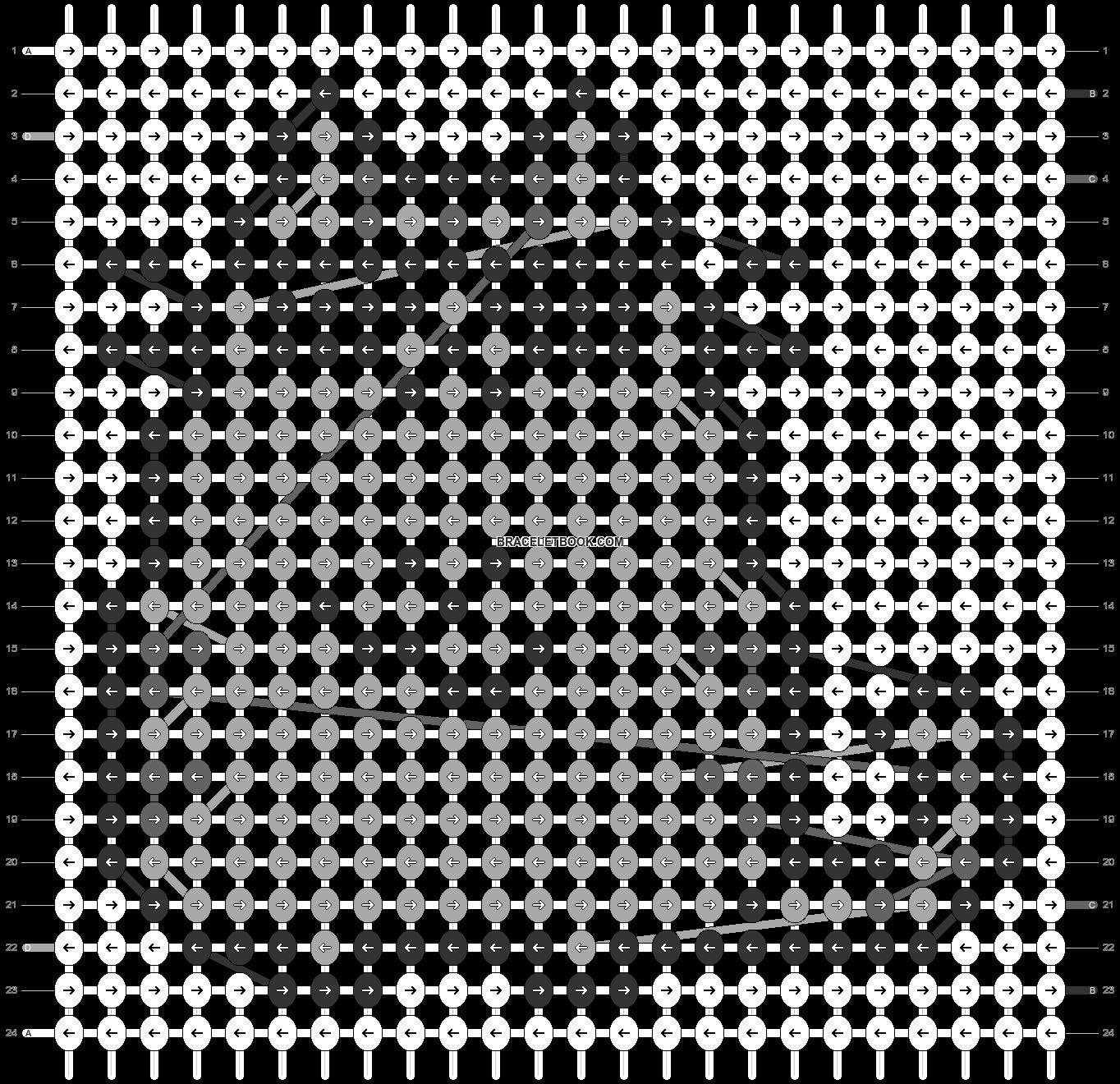 Alpha pattern #32512 pattern