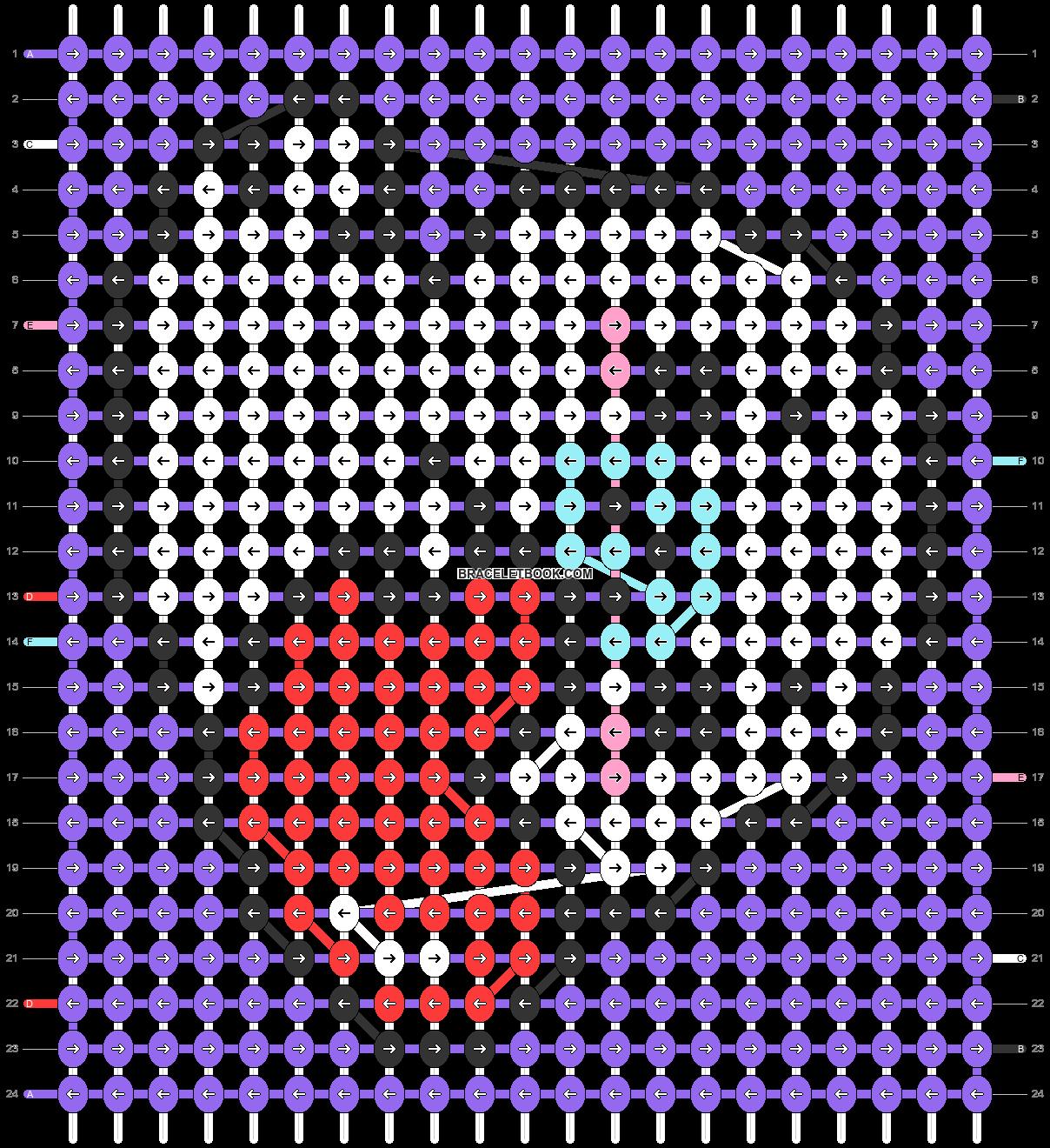Alpha pattern #32538 pattern