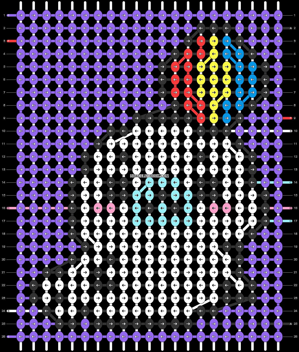 Alpha pattern #32539 pattern