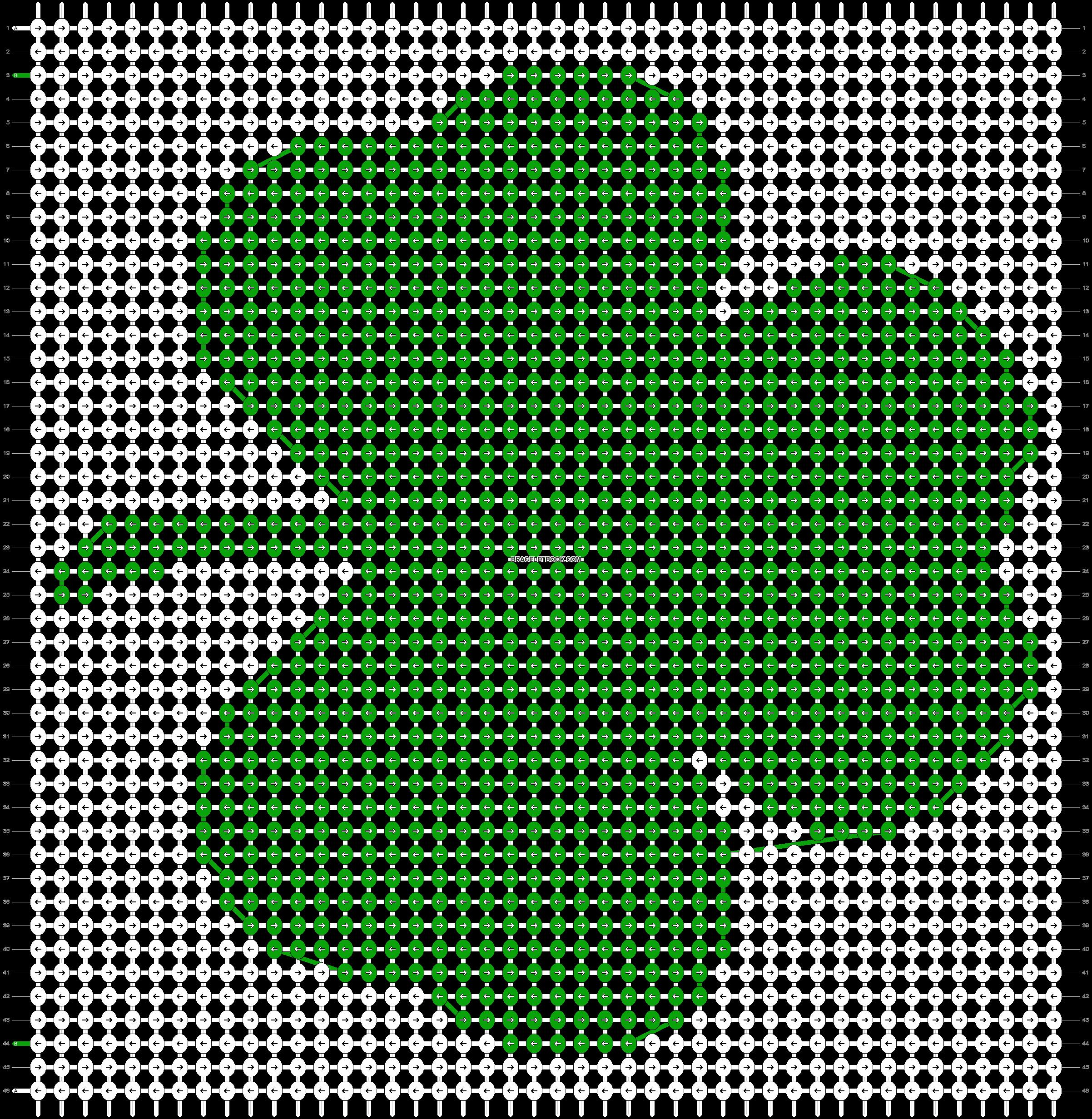 Alpha pattern #32583 pattern