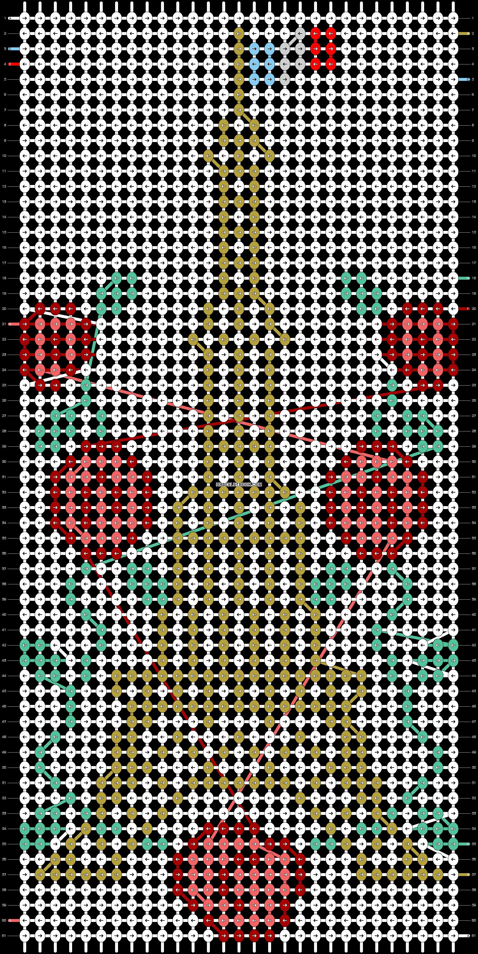 Alpha pattern #32588 pattern