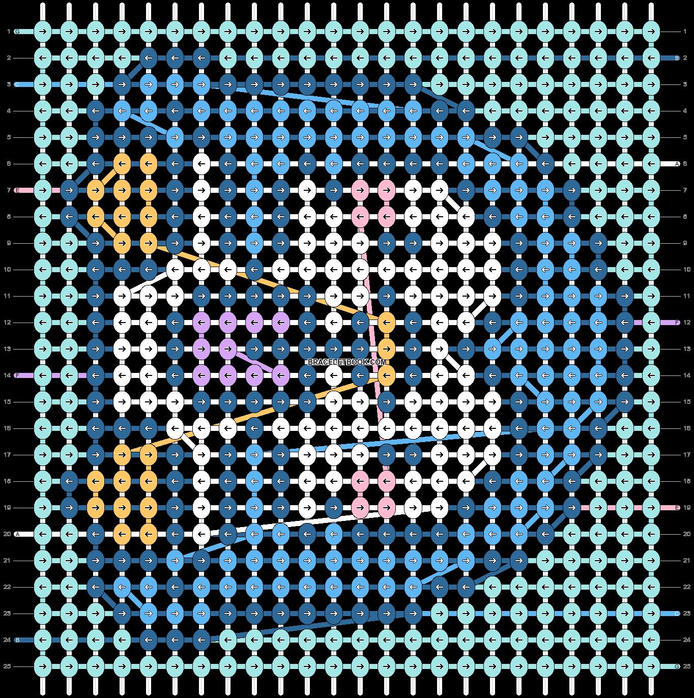 Alpha pattern #32594 pattern