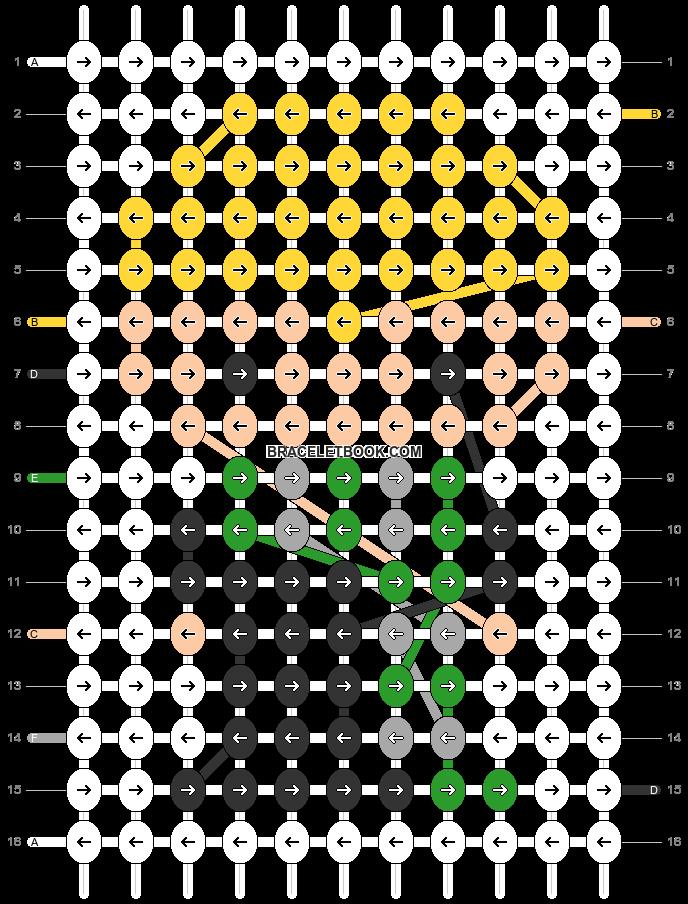 Alpha pattern #32629 pattern