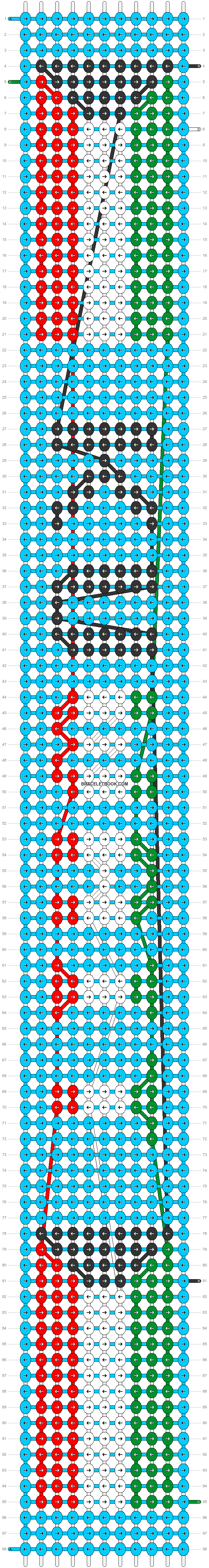 Alpha pattern #32633 pattern