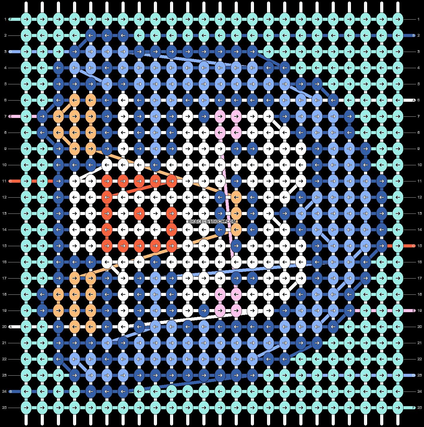 Alpha pattern #32662 pattern