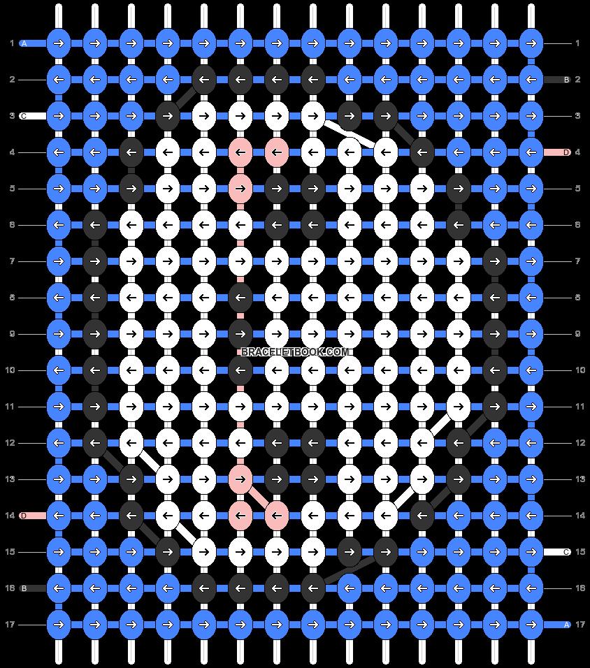 Alpha pattern #32682 pattern