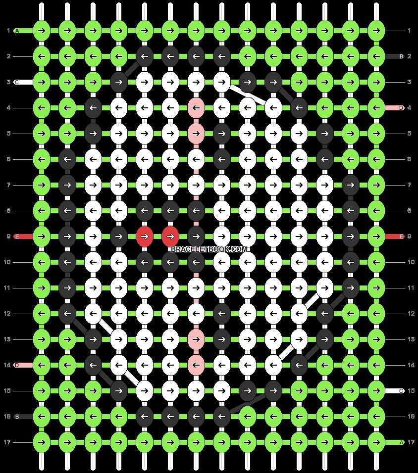 Alpha pattern #32683 pattern