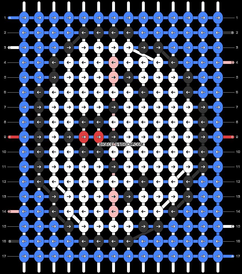 Alpha pattern #32684 pattern