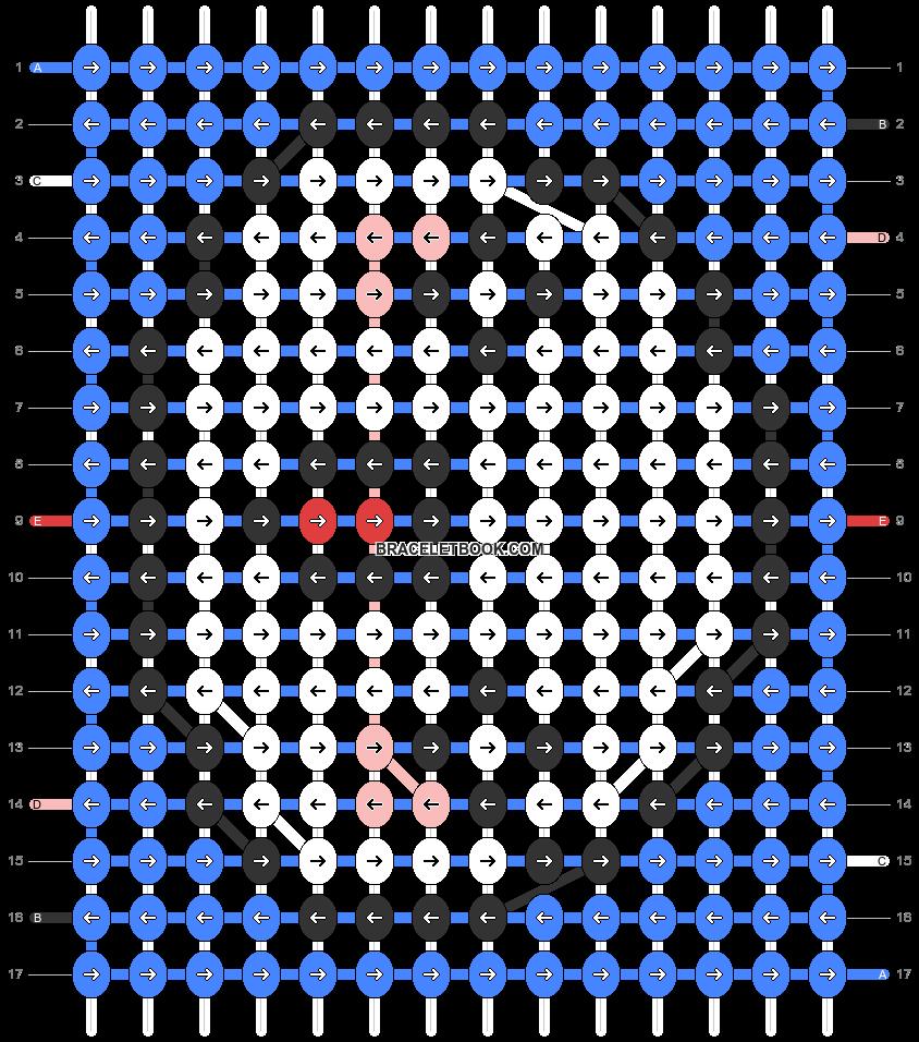Alpha pattern #32686 pattern