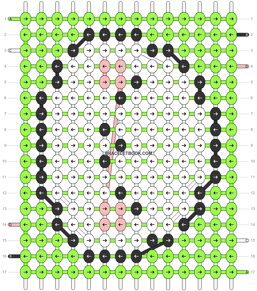 Alpha pattern #32687 pattern