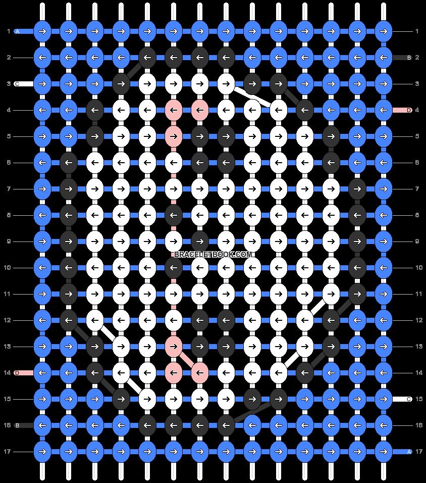 Alpha pattern #32689 pattern